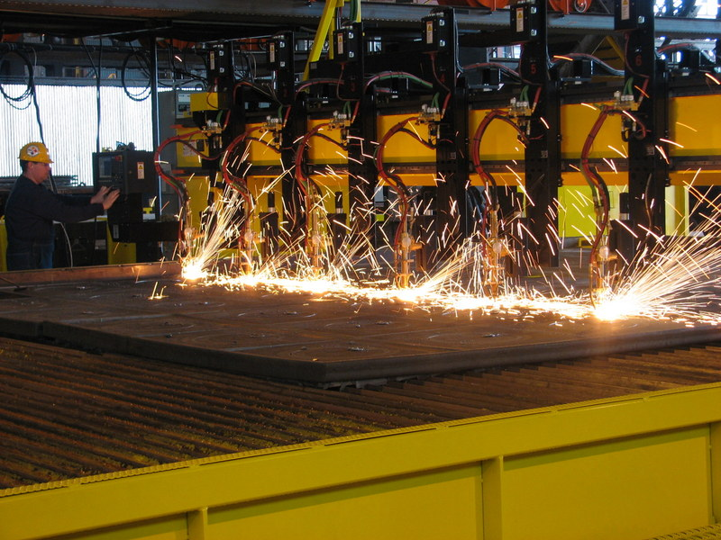 Farwest Multi-Torch Flame Cutting